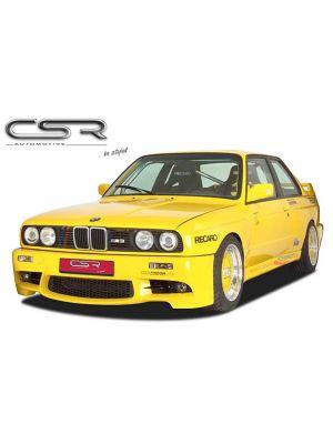 Voorbumper | BMW | 3-serie 83-91 2d sed. E30 / 3-serie 83-91 4d sed. E30 / 3-serie Cabrio 86-93 2d cab. E30 / 3-serie Touring 88-94 5d sta. E30 | Fiberflex