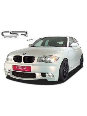 Voorbumper | BMW | 1-serie 04-07 5d hat. E87 / 1-serie 07-11 5d hat. E87 LCI / 1-serie 07-12 3d hat. E81 / 1-serie Cabrio 08-11 2d cab. E88 / 1-serie Cabrio 11-14 2d cab. E88 / 1-serie Coupé 07-11 2d cou. E82 / 1-serie Coupé 11-13 2d cou. E82 | Fiberflex
