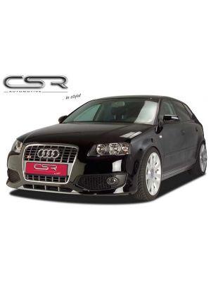 Voorbumper | Audi | A3 03-05 3d hat. / A3 05-08 3d hat. / A3 Sportback 04-08 5d hat. | 8P / 8PA | Fiberflex