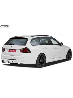 Achteraanzetstuk | BMW | 3-serie 05-08 4d sed. E90 / 3-serie 08-12 4d sed. E90 LCI / 3-serie Touring 05-08 5d sta. E91 / 3-serie Touring 08-13 5d sta. E91 LCI | M-Pakket | Fiberflex