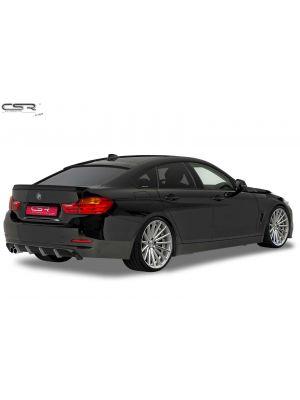 Achteraanzetstuk | BMW | 4-serie Cabrio 14- 2d cab. F33 / 4-serie Coupé 13- 2d cou. F32 / 4-serie Gran Coupé 14- 5d hat. F36 | Fiberflex