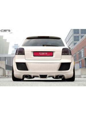 Achterbumper | Audi | A3 03-05 3d hat. / A3 05-08 3d hat. / A3 08-12 3d hat. / A3 Cabriolet 08-13 2d cab. / A3 Sportback 04-08 5d hat. / A3 Sportback 08-13 5d hat. | GVK