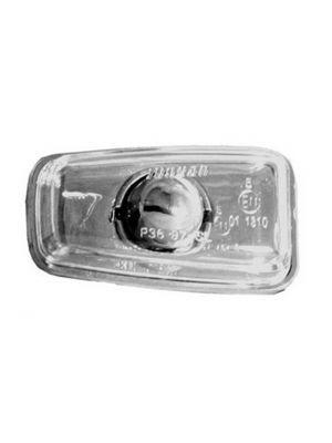 Zijknipperlicht (set) | Peugeot 306 1993-2001 | chrome