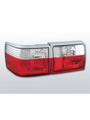 Achterlichten | Audi 80 sedan (B3) 1986-1991 / 80 avant (B4) 1991-1995 | rood / wit