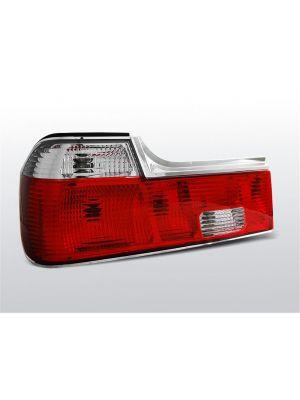 Achterlichten | BMW 7-Serie E32 Sedan 1986-1994 | rood / wit