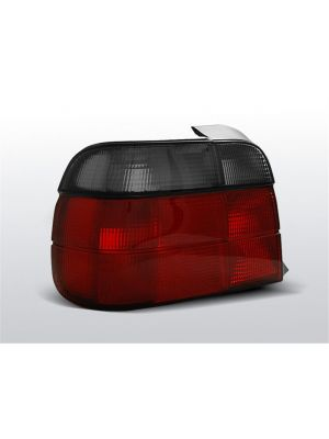 Achterlichten | BMW 3-Serie E36 Compact 1994-2000 | rood / smoke