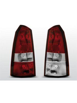 Achterlichten | Ford Focus MK1 1998-2004 Tournier | rood / wit