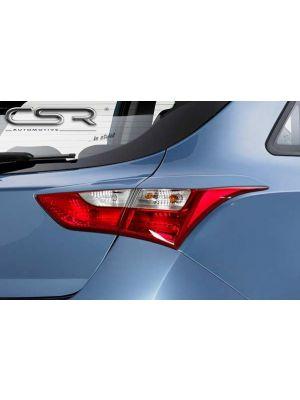 Achterlichtcovers | Hyundai i30 2011- | ABS