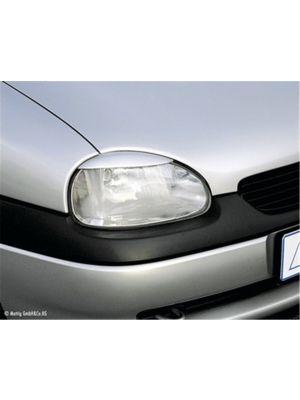 Koplampspoilers Opel  Corsa B Hatchback  1993-2000 ABS