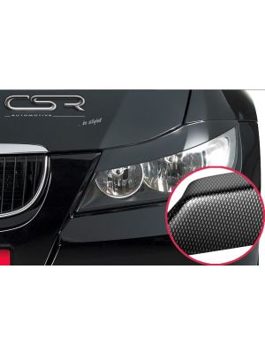 Koplampspoilers | BMW 3er E90/E91 Limo/Touring 2005-2012 | ABS Carbon Look