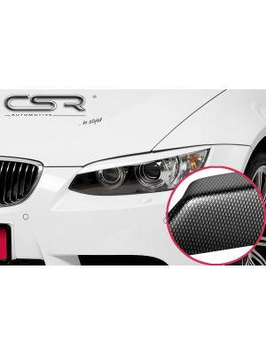 Koplampspoilers | BMW 3er E92/E93 Coupé/Cvanafrio 2006-03/2010 | ABS Carbon Look