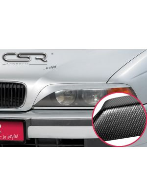 Koplampspoilers | BMW 5er E39 Limo/Touring 1995-2004 | ABS Carbon Look