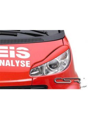 Koplampspoilers Smart 451 alle vanaf 2007 ABS