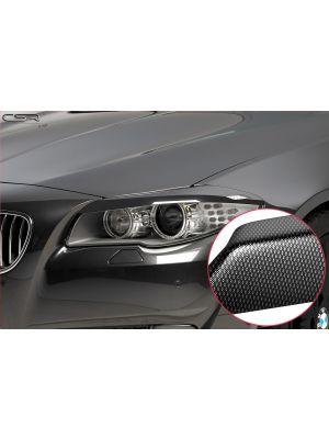 Koplampspoilers | BMW 5-serie F10 alle 1/2010-7/2013 | ABS Carbon Look