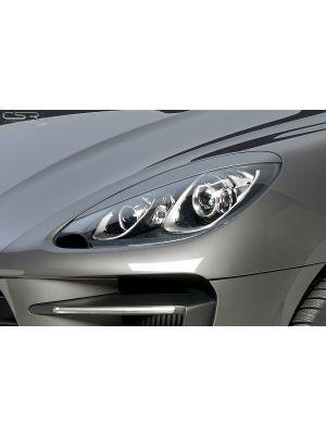 Koplampspoilers | Porsche Macan alle vanaf 2014 | ABS