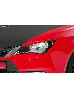 Koplampspoilers | Seat Ibiza 6J alle 4/2012-2015 | ABS