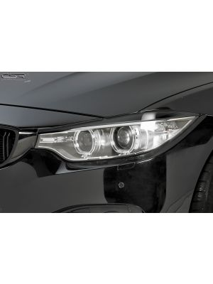Koplampspoilers | BMW 4-serie F32, F33, F36 Coupé, Cabrio, Gran Coupé vanaf 10/2013 | ABS
