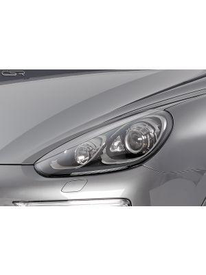 Koplampspoilers | Porsche Cayenne 92A alle vanaf 5/2010 | ABS