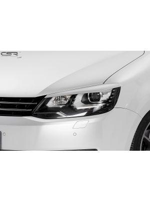 Koplampspoilers | VW Sharan II alle vanaf 2010 | ABS