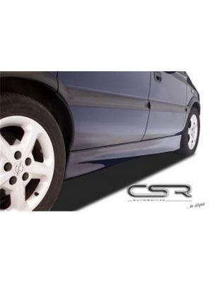 Side Skirts Opel Zafira A Hatchback 1999-2005 GVK XX-Line