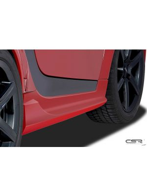 Side Skirts | Smart | fortwo cabrio 07-10 2d cab. | Fiberflex