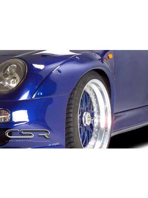Spatbordverbreders | Porsche | 911 Cabriolet 94-97 2d cab. | voor | Fiberflex