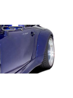 Spatbordverbreders | Porsche | 911 Cabriolet 94-97 2d cab. | achter | Fiberflex