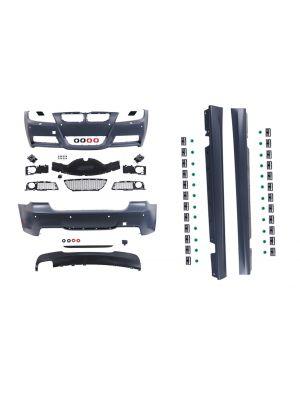 Bodykit | voor M-pakket | BMW 3-serie sedan E90 LCI 2008-2012 | ABS Kunststof