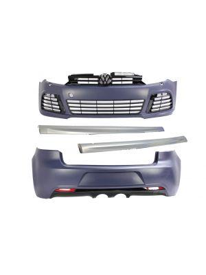 Bodykit | R20 Look | Volkswagen Golf VI 6  2008-2012 | ABS Kunststof met LED dagrijlichten