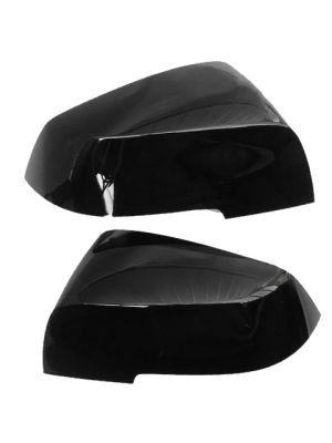 Spiegelkappen | BMW | o.a F20 / F21 / F22 / F23 / F87 / F23 / F30 / F31 / F34 / F35 / F32 / F33 / F36 / I01 / E84 | zwart glanzend