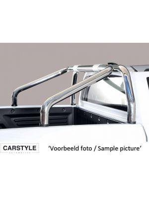 Roll Bar | Volkswagen | Amarok Dubbele Cabine 11-16 4d pic. / Amarok Dubbele Cabine 16- 4d pic. | 2-pijps | RVS