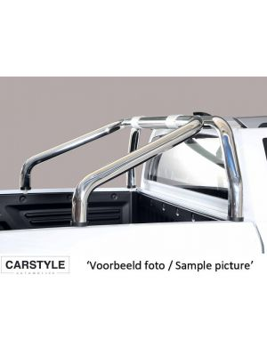 Roll Bar | Ssangyong | Actyon Sports 12- 4d pic. | 2-pijps | RVS