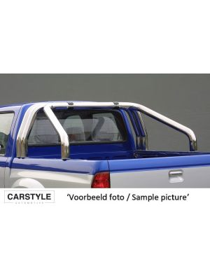 Roll Bar | Ssangyong | Actyon Sports 07-09 4d pic. | 3-pijps | RVS