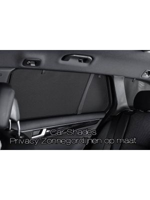 Car Shades set | Nissan Navara Double Cab 2013- | Privacy & Zonwering op maat