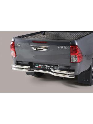 Rear Bar | Toyota | Hilux 16- 2d pic. / Hilux Dubbele Cabine 16- 4d pic. | RVS