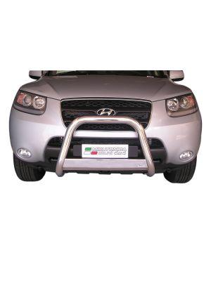 Pushbar | Hyundai | Santa Fe 06-10 5d suv. | RVS Met CE-keur CE-keur