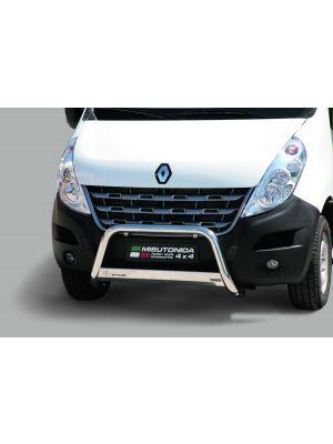 Pushbar | Renault | Master 11-14 4d bes. / Master 14- 4d bes. / Master 19- 4d bes. / Master Combi 11-14 4d bus. / Master Combi 15-19 4d bus. | RVS CE-keur