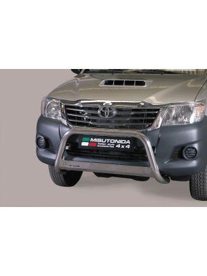 Pushbar | Toyota | Hilux 12-16 2d pic. / Hilux Dubbele Cabine 12-16 4d pic. | RVS CE-keur