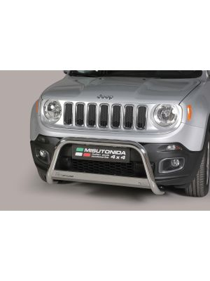 Pushbar | Jeep | Renegade 14-19 5d suv. | RVS CE-keur
