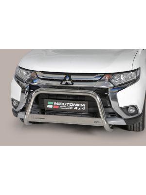 Pushbar | Mitsubishi | Outlander 15- 5d suv. | RVS CE-keur