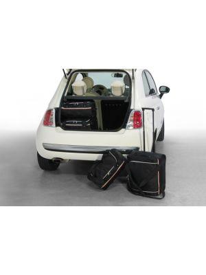 Reistassen set | Fiat 500 2007- 3 deurs | Car-bags