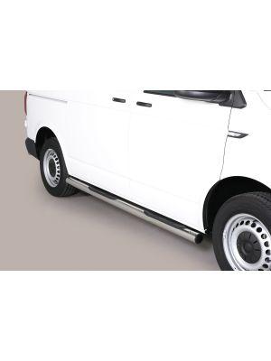 Side Bars | Volkswagen | Transporter Kombi 15- 4d bus. | SWB | RVS