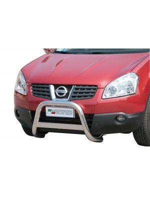 Pushbar | Nissan | Qashqai 07-08 5d suv. / Qashqai 08-10 5d suv. | zonder CE-Keur | RVS
