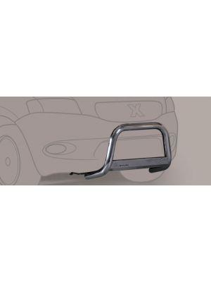 Pushbar | Mitsubishi | Pajero Sport 02-08 5d suv. | TDI versie | RVS