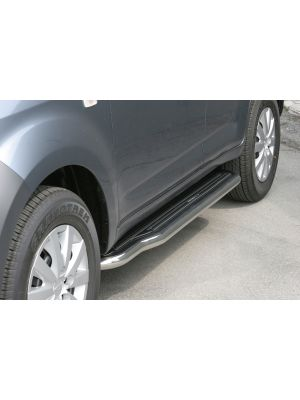 Side Bars | Daihatsu | Terios 06-10 5d suv. | Overfender | RVS