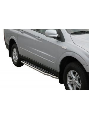 Side Bars | Ssangyong | Actyon Sports 07-09 4d pic. | RVS