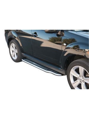 Side Bars | Peugeot | 4007 07-11 5d suv. | RVS