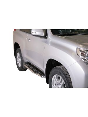 Side Bars | Toyota | Land Cruiser 10-13 3d suv. / Land Cruiser 13-17 3d suv. / Land Cruiser 17- 3d suv. | RVS