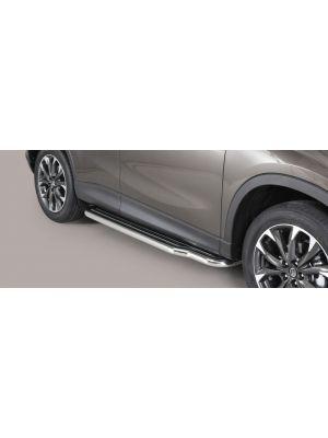 Side Bars | Mazda | CX-5 15-17 5d suv. | RVS