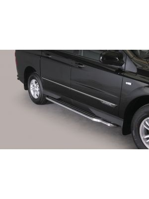 Side Bars | Ssangyong | Actyon Sports 12- 4d pic. | RVS